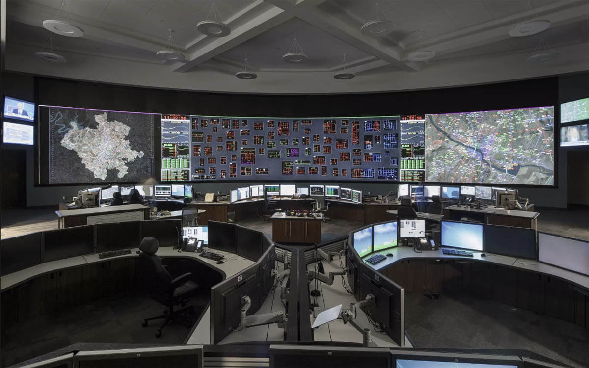 A Complete Portfolio Of Control Room Video Security System Solutions