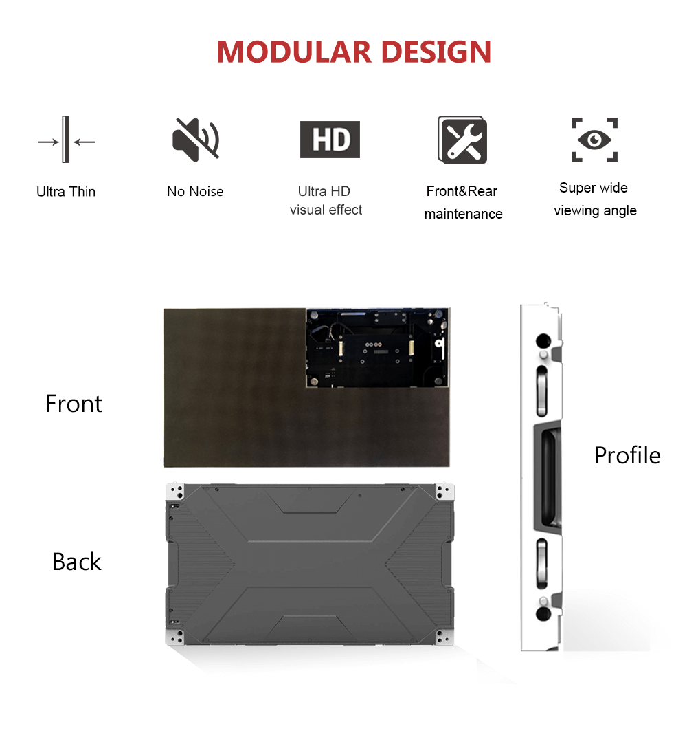 pixel pitch led display