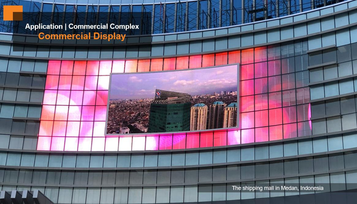 Outdoor P10 Fixed Led advertising screen